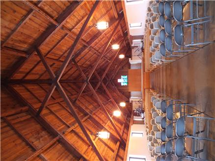 The UMM Chapel seats up to 250 people for worship services, weddings, and meetings.  Includes a sound system.